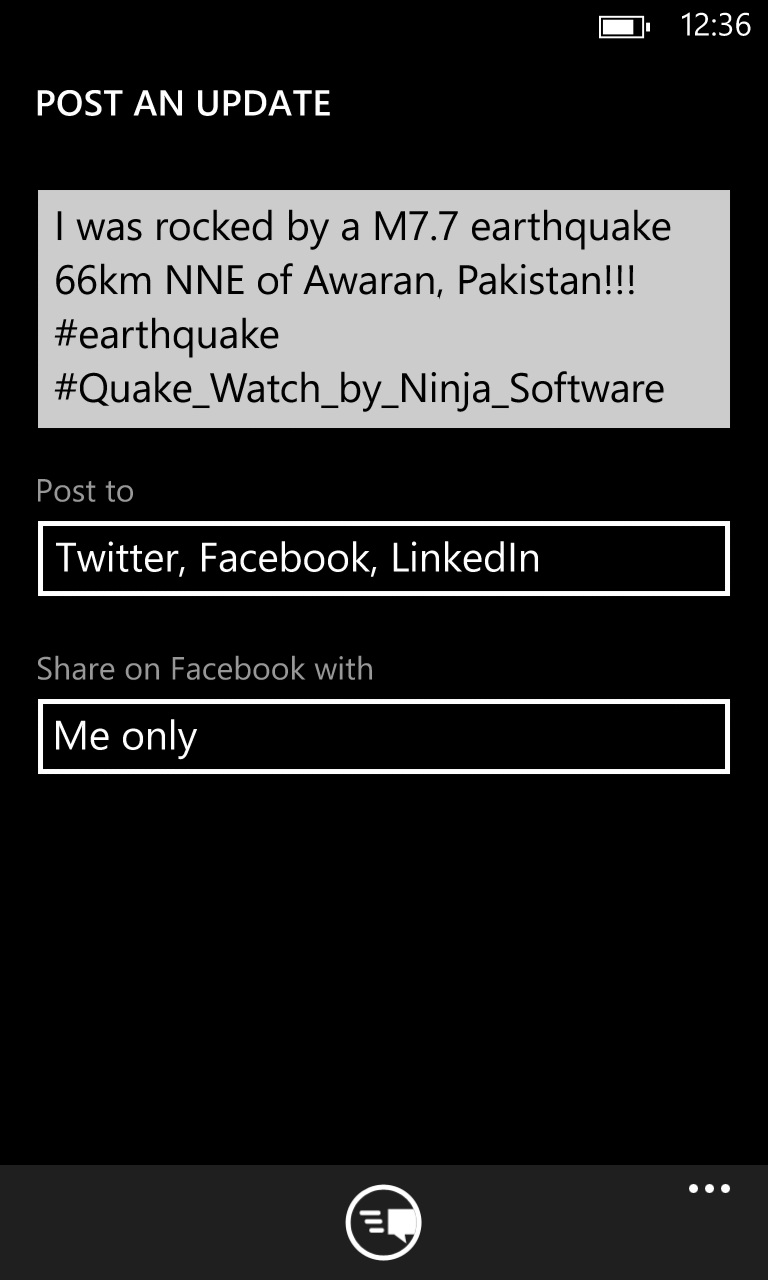 Quake Watch