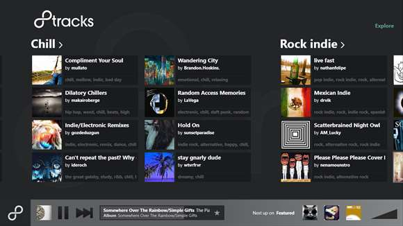 8tracks radio screenshot 1