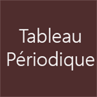 Tableau p riodique des l ments windows apps on for B tableau periodique