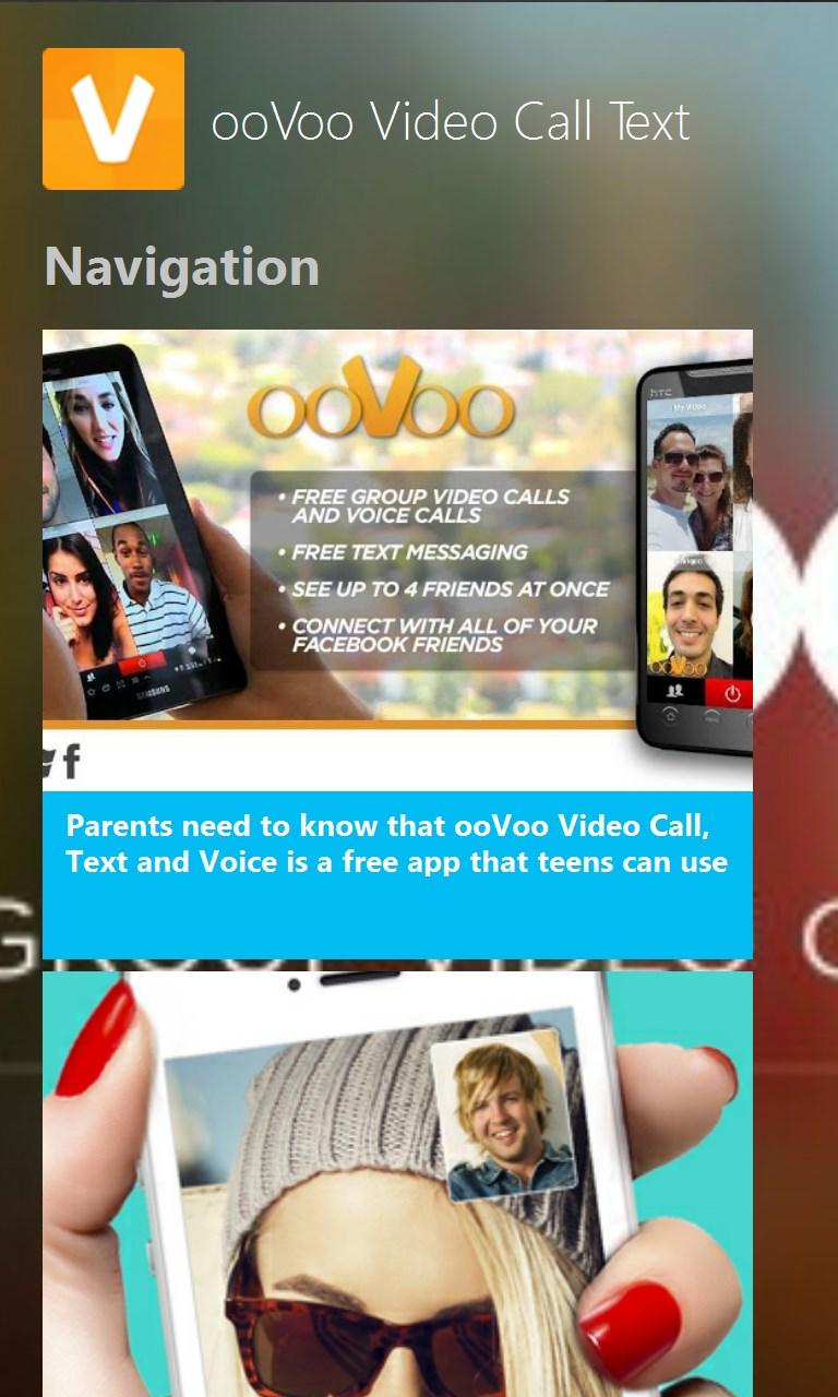 Oovoo windows phone app store