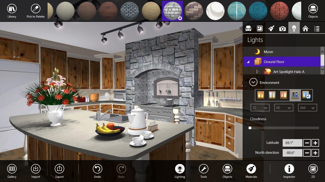 Free 3d kitchen design software 100 autocad kitchen for Best kitchen design app