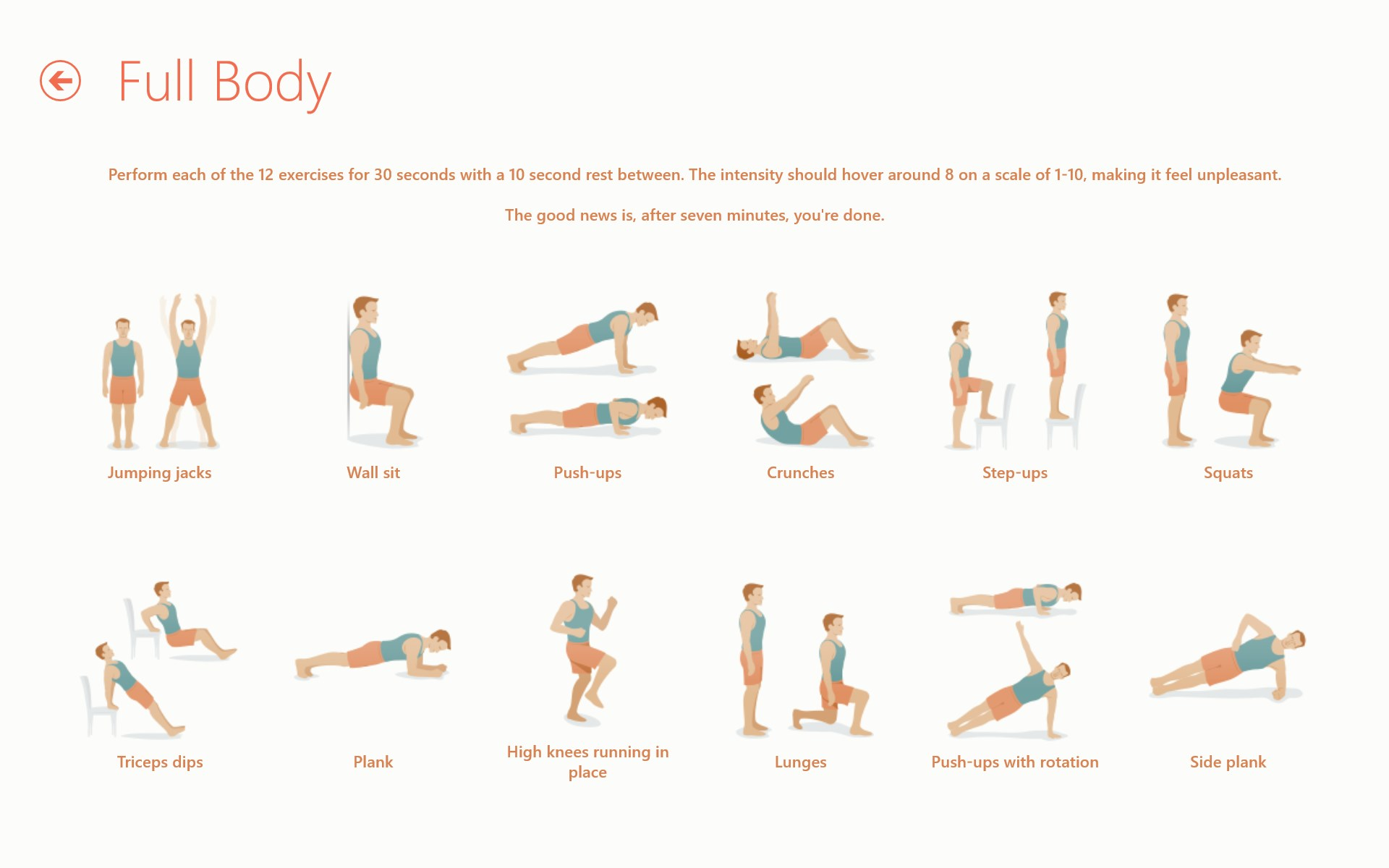 Seven - 7 Minute Workout Challenge
