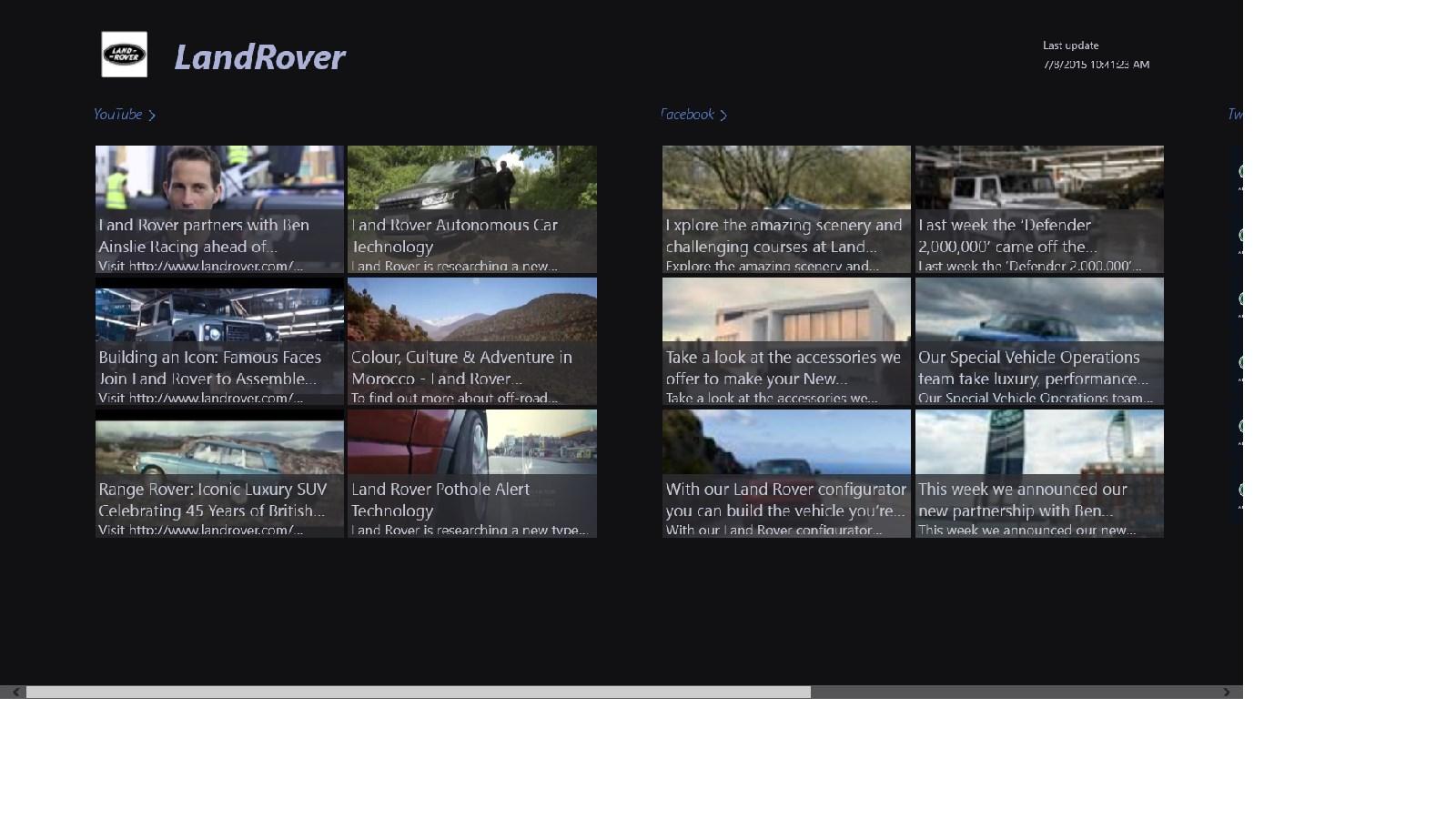 Land Rover Farmington Hills >> Land Rover cars | FREE Windows Phone app market