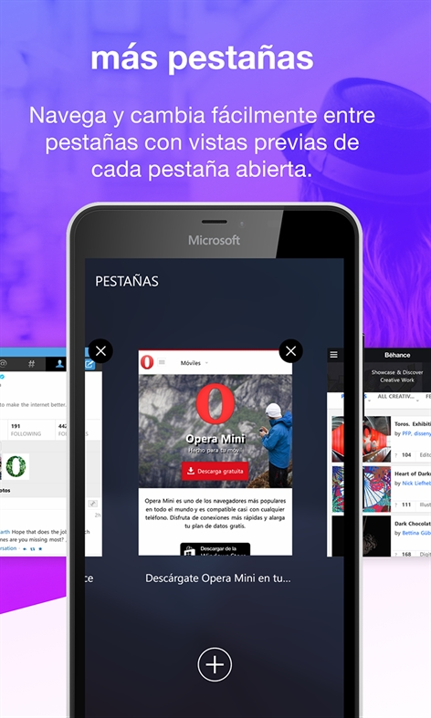 Opera Mini Screenshot