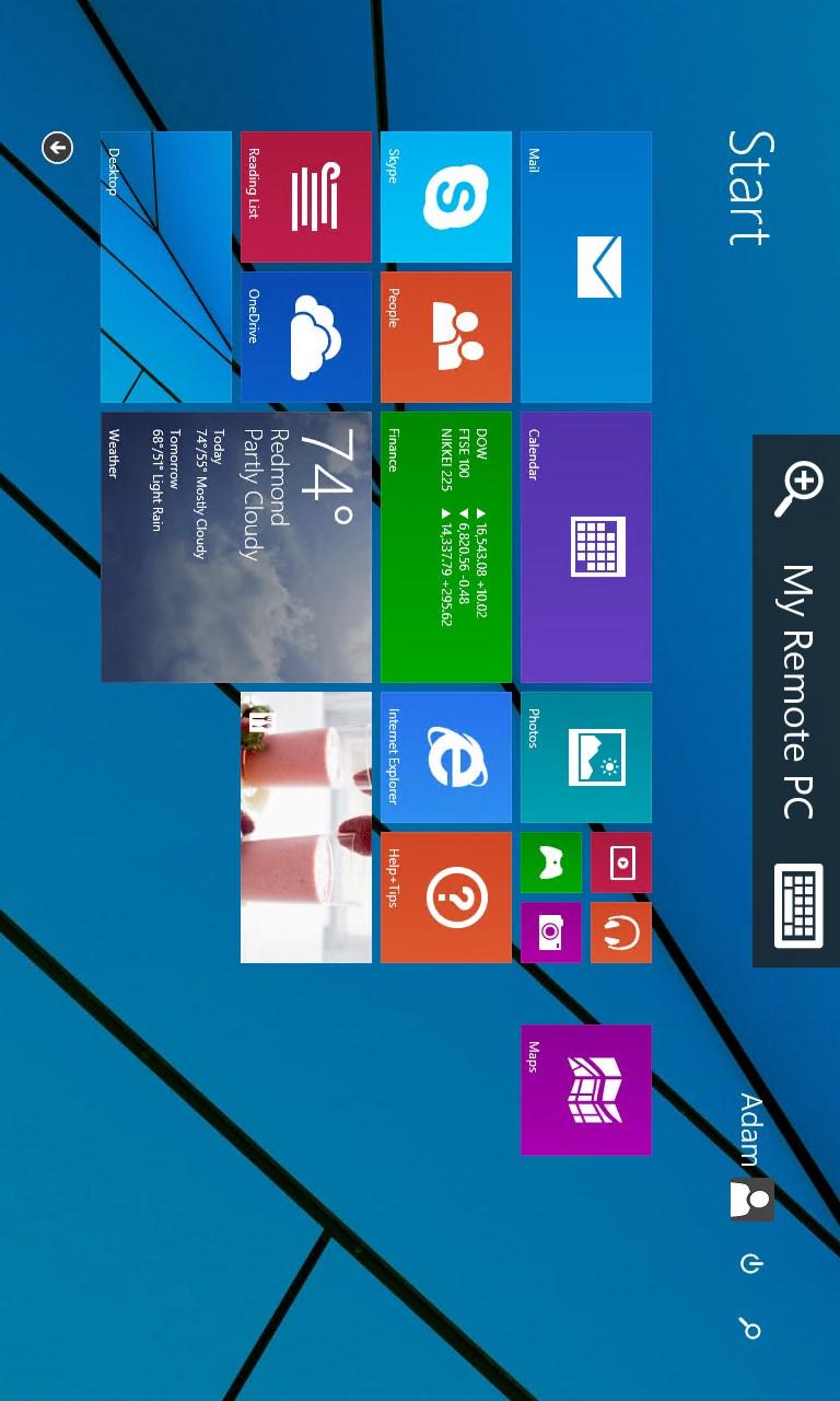 how to run remote desktop windows 10