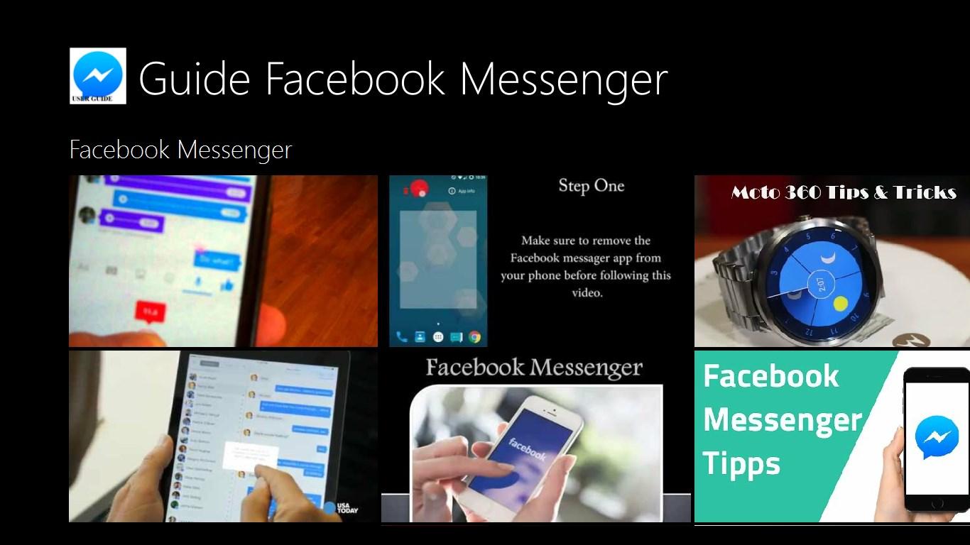 guide facebook messenger free windows phone app market. Black Bedroom Furniture Sets. Home Design Ideas
