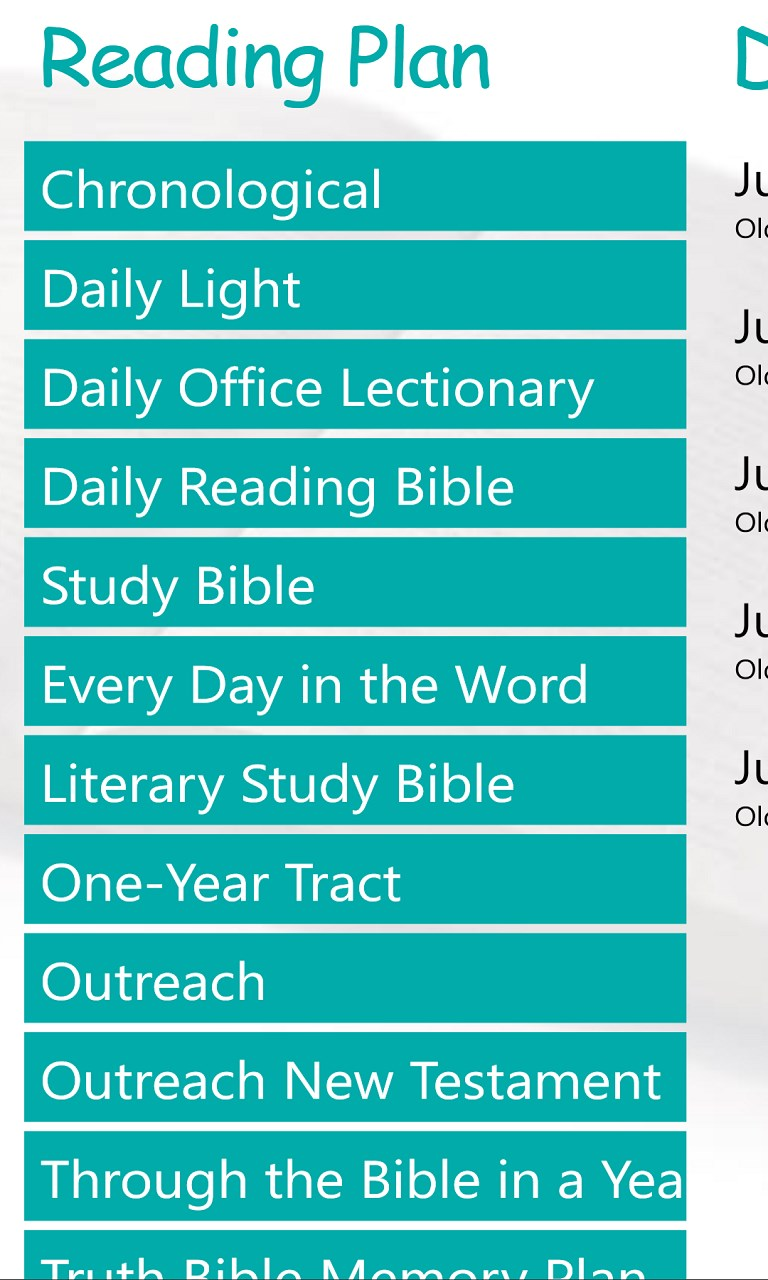 king james version bible java application