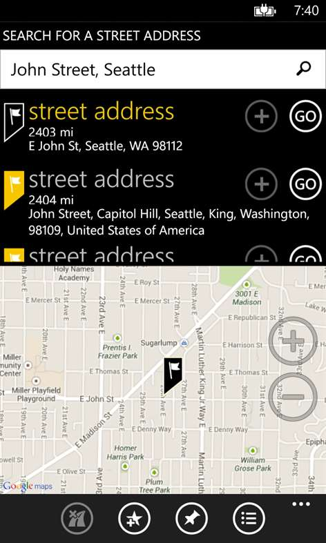 GPS Voice Navigation Screenshots 2
