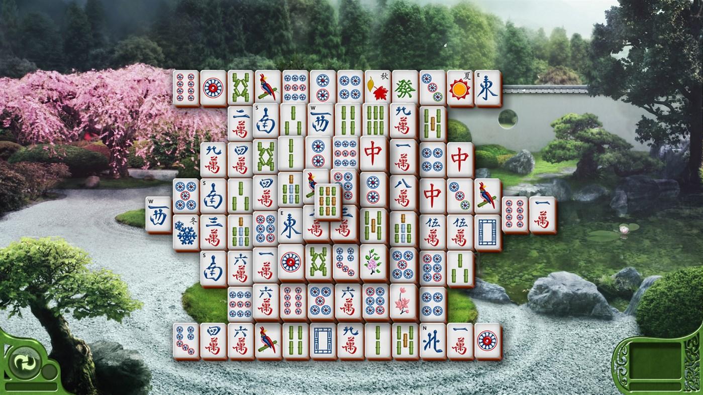 Microsoft Mahjong for Win8 UI full screenshot