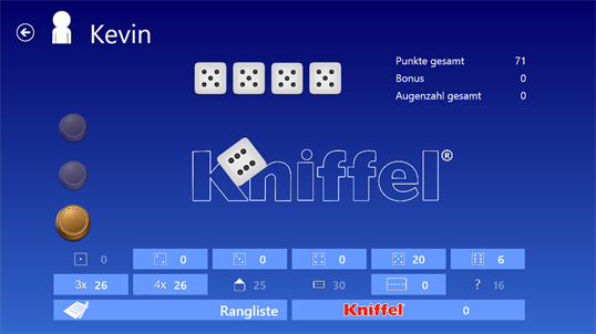 Kniffel Computer