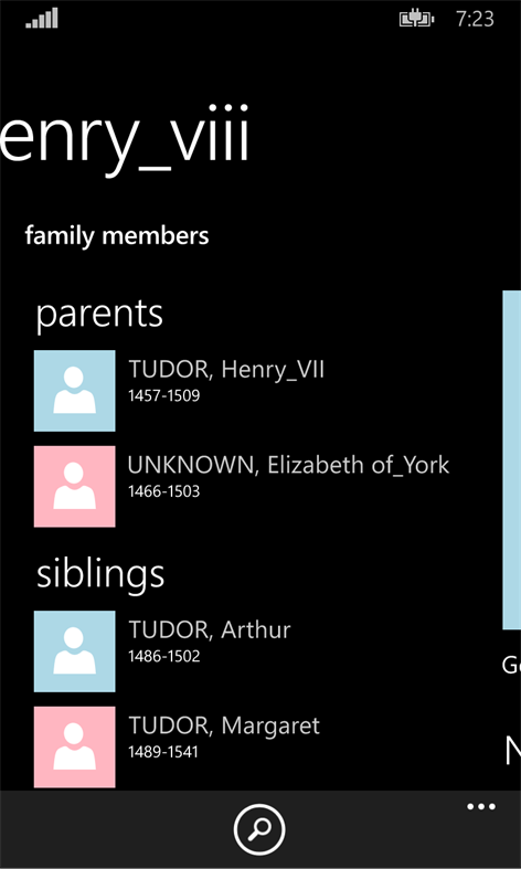 Relative History – Windows Apps on Microsoft Store