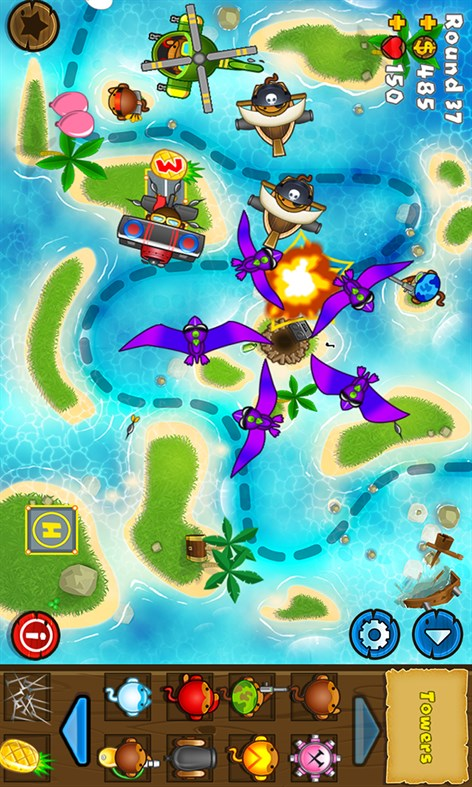#2. Bloons TD 5 (Windows Phone)