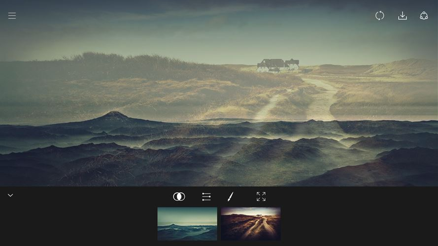 Fused : Double Exposure, Video and Photo Blender Screenshot