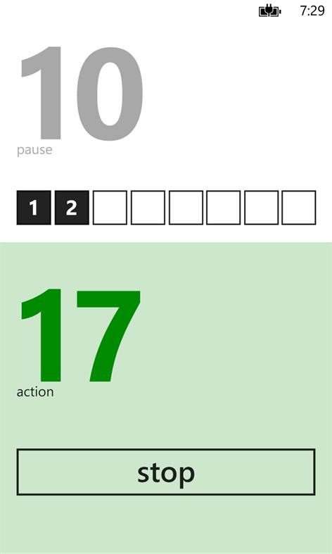 Tabata Timer Screenshots 1