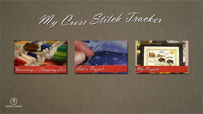 get my cross stitch tracker microsoft store