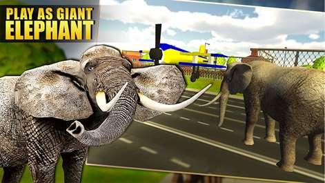Get wild elephant simulator 3d animal run destroy microsoft screenshot wild elephant simulator 3d sciox Images