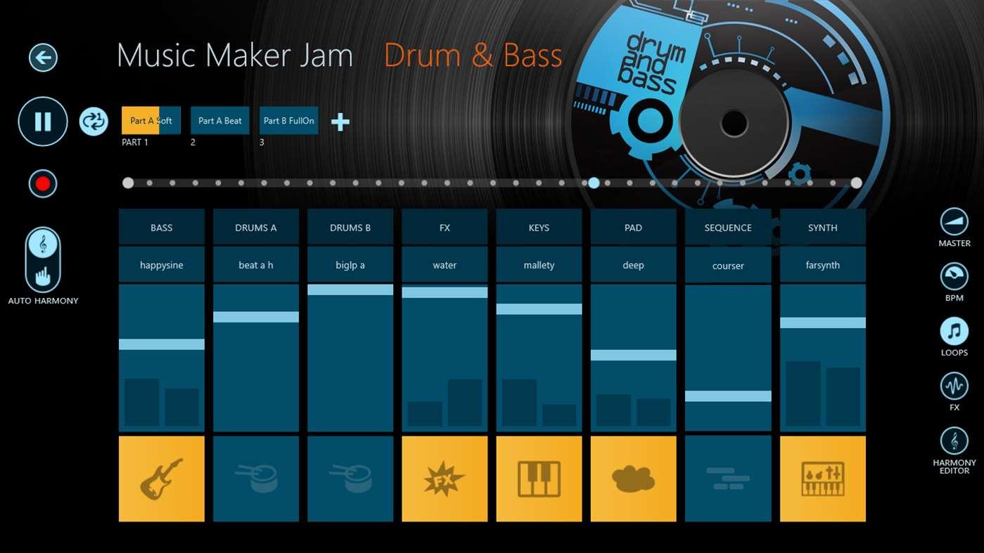 Full Music Maker Jam screenshot