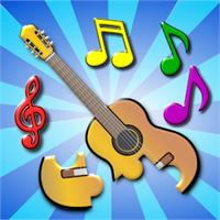 Kinder Musikalische Jigsaw Puzzles Für Vorschule Beziehen