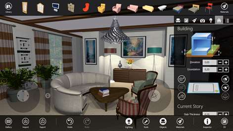Screenshot Look And Move Around In Real Time The 3D View Of