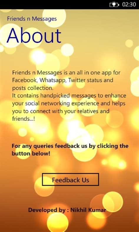 Friends n Messages Screenshots 2
