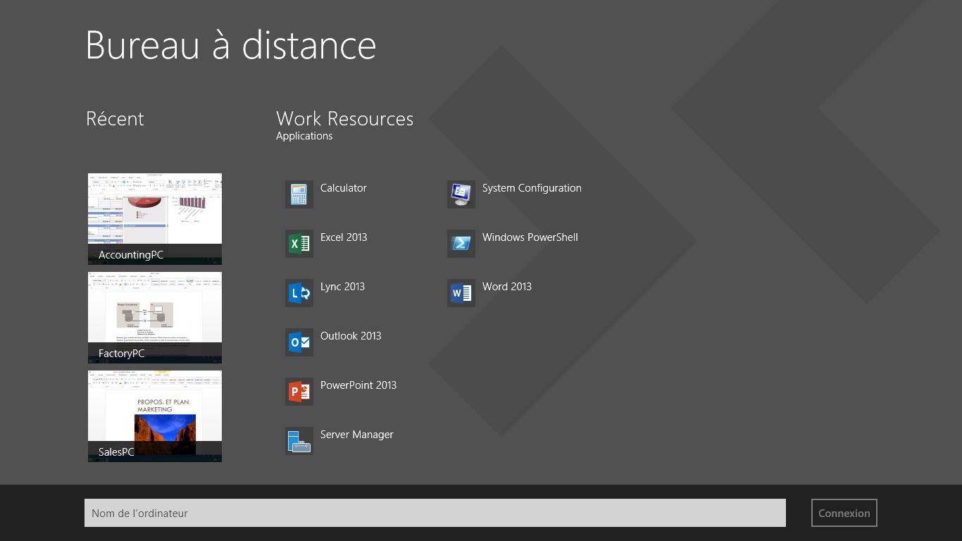 Recevoir Bureau distance Microsoft Microsoft Store frFR