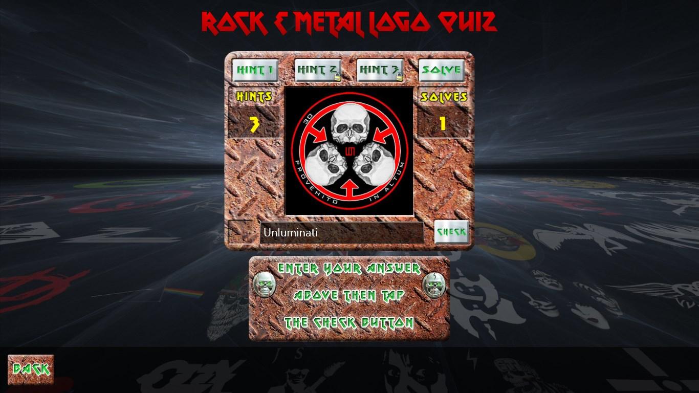 Rock & Metal Logo Quiz for Windows 10