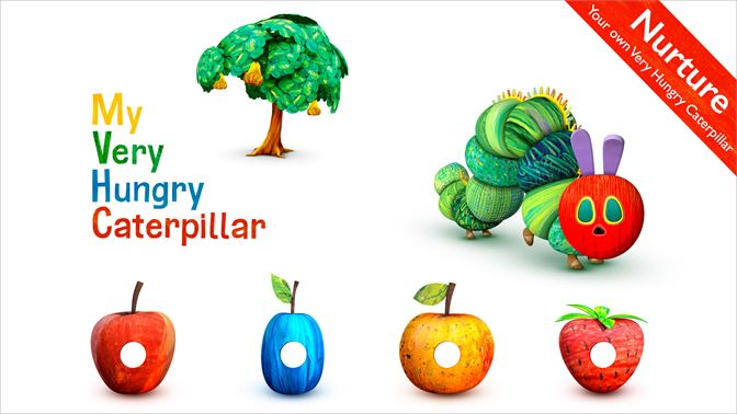 Screenshot Nurture Your Own Very Hungry Caterpillar