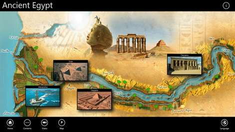 Buy Ancient Egypt D Microsoft Store - Map of egypt 3d