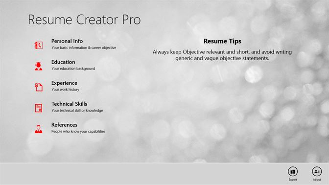 Volcor Software Resume Creator Pro | Windows 10