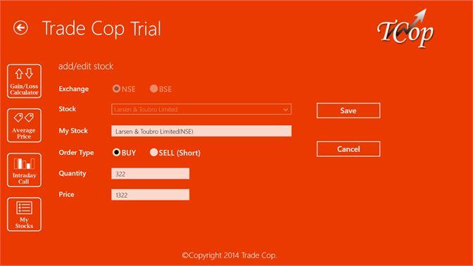 Get Trade Cop Trial - Microsoft Store en-PH