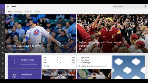 MSN Sports Screenshots 1