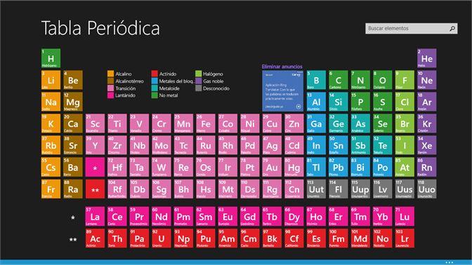 Obtener tabla peridica de los elementos qumicos microsoft store es mx captura de pantalla pgina principal disposicin en tabla peridica urtaz Image collections