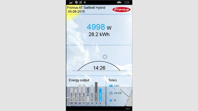 Get Fronius Solar web live - Microsoft Store