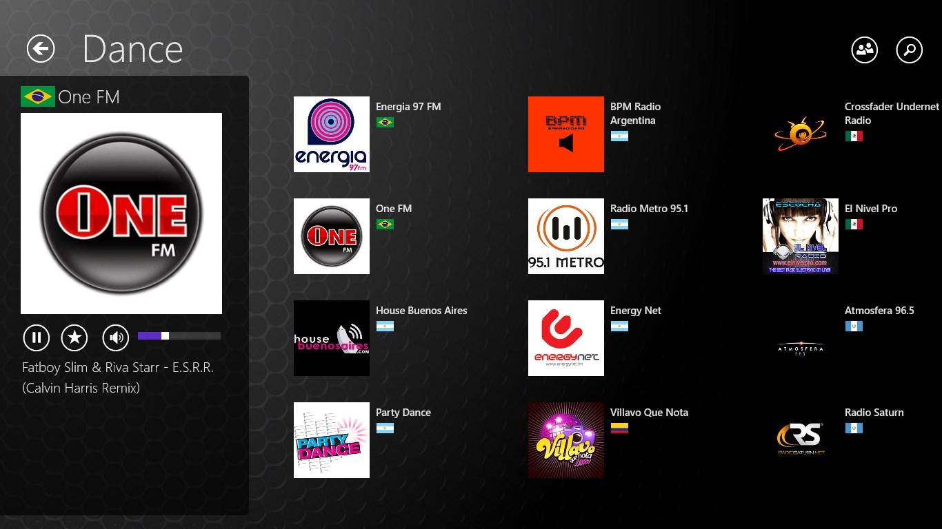 Win 10 Radio App
