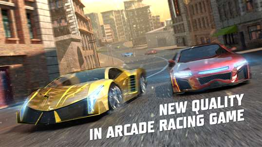 Racing 3D: Need For Race on Real Asphalt Speed Tracks screenshot 1