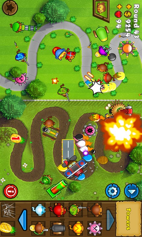 #4. Bloons TD 5 (Windows Phone)