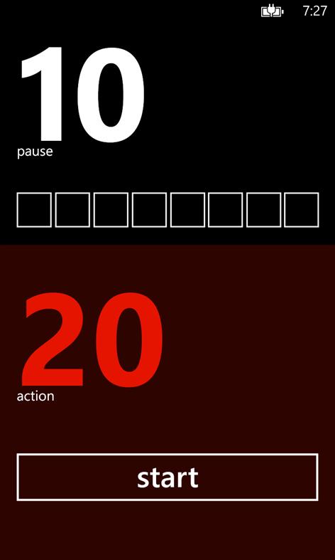 Tabata Timer Screenshots 2