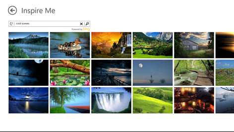Screenshot Find Inspirational Images To Help You Get Started