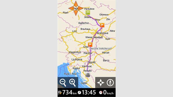 Zero G Map Of Ireland.Get Mapfactor Gps Navigation Microsoft Store