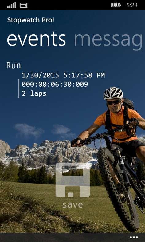 Stopwatch Pro! Screenshots 2