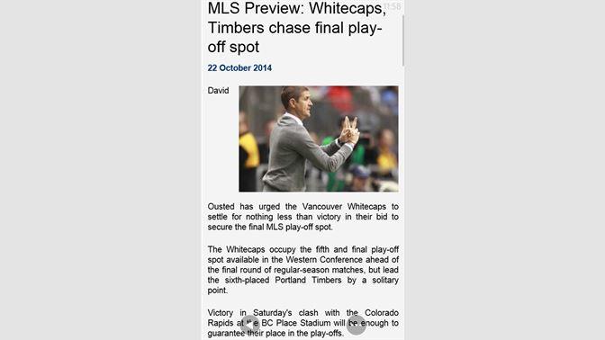 Get Soccerway Live - Microsoft Store