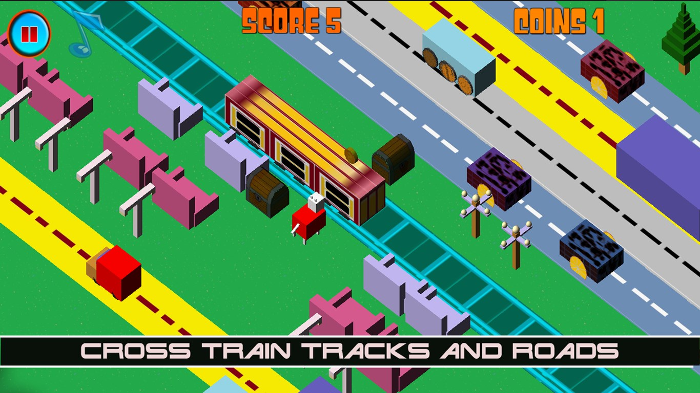 Crossy Jumper Endless Runner