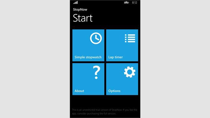 Get Stopwatch: StopNow Free - Microsoft Store