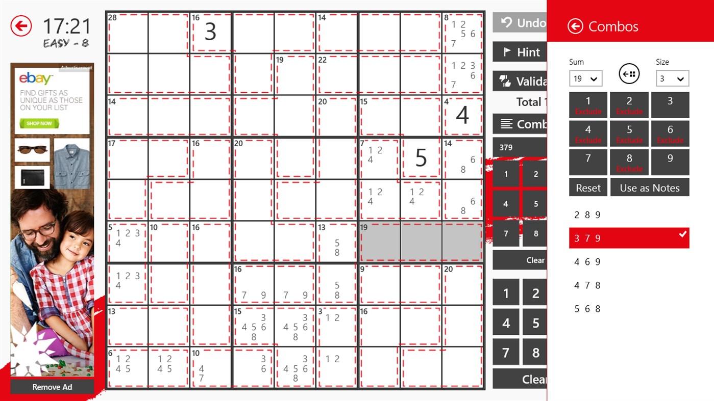 Killer Sudoku – (Windows Games) — AppAgg