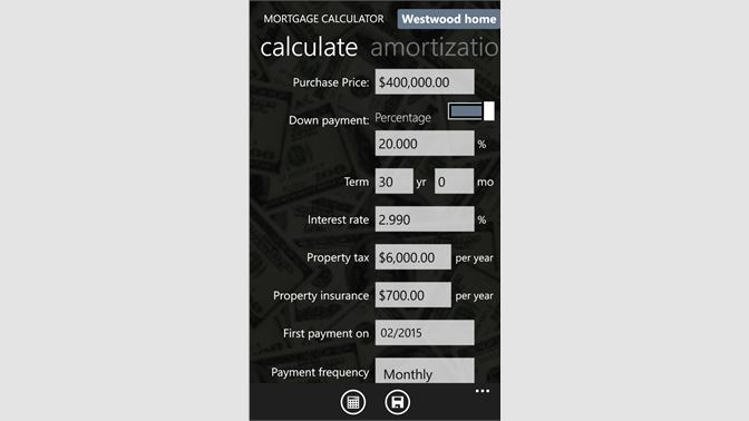 Down Payment Calculator >> Osta Loan Calculator Microsoft Store Fi Fi