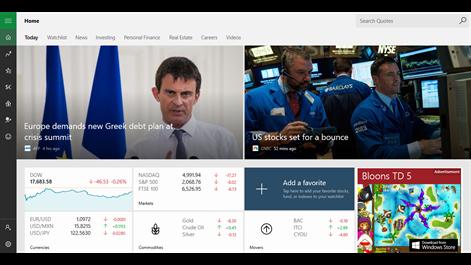 MSN Money Screenshots 1