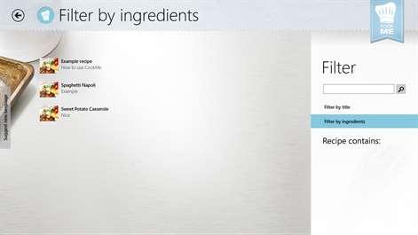 CookMe - Your Cookbook Screenshots 2
