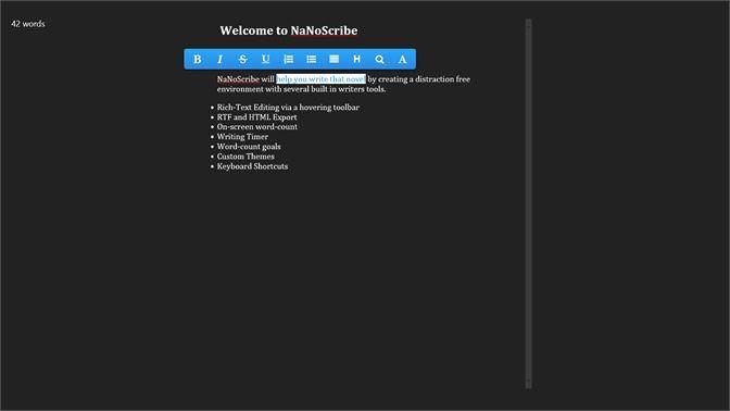 Buy NaNoScriBe - Microsoft Store en-AU