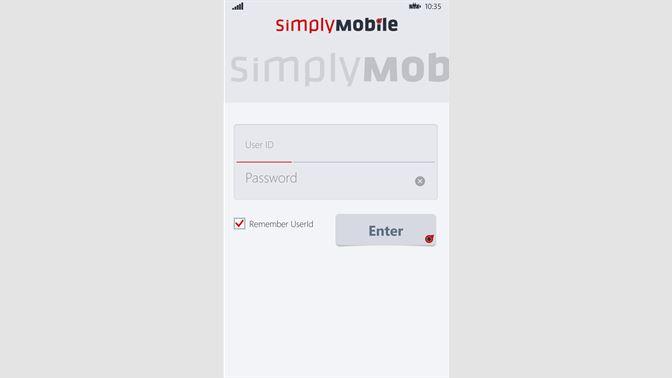 Get SimplyMobile - Microsoft Store