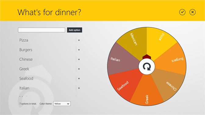 Buy Decision Making Wheel - Microsoft Store